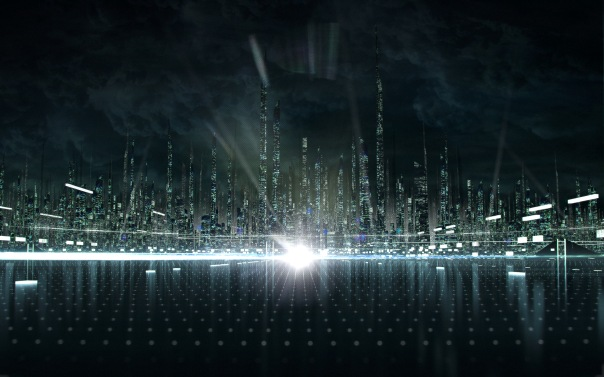City-Concept-Tron-Legacy-Wallpaper